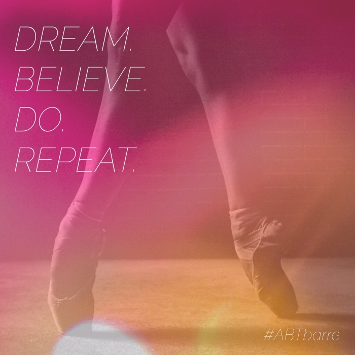 Make your dreams a reality. Daily fitness inspiration