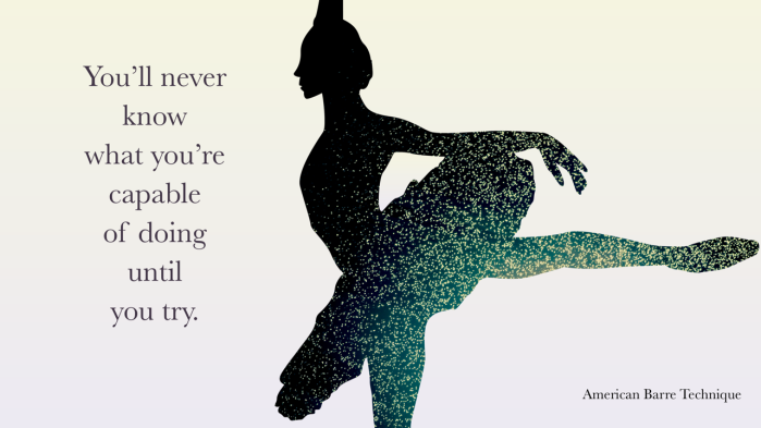 Inspirational ballet fitness quotes